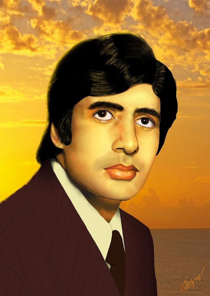 Amitabh Bachchan by Yatanis